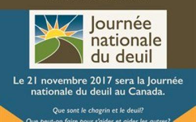 journée du deuil 2017 il est temps de parler du deuil au Canada